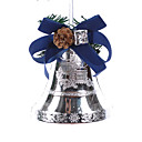 Blue Silver Jingle Bell Christmas Bell