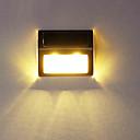 LED de pared de luz al aire libre Luz de jardín Luz Moderno Escalera Solar