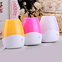 0.3W luz-funcionado de Voz y Control de noche de luz 3 colores disponibles