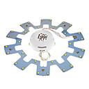15W 30x5730SMD 1650LM 6000K Luz Blanca Bombilla LED de techo Cool (85-265V)