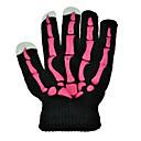 Mano hueso tres dedos guantes de la pantalla táctil para el iPhone, iPad y todos los dispositivos con pantalla táctil (color surtidos)