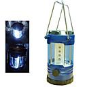 12 Super LED lámpara brillante Deluxe acampa portable con el compás (3  AA)