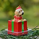 Golden retriever lindo ornamento decorativo regalo de Navidad para los amantes de mascotas