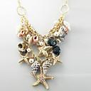 (1 pc) cosecha (pendiente animal) collar pendiente de la aleación de oro (multicolor)