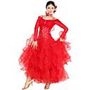 Dancewear spandex y tul vestido de danza moderna para damas (más colores)
