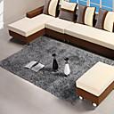 140  200cm alfombra moderna de color gris