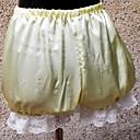 4 del satén del color clásico Bloomers Lolita con encaje blanco