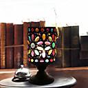 Arte Copa de noche / lámpara de mesa hecha a mano magnífica Retro