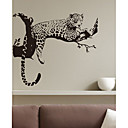 Animales leopardo pegatinas de pared