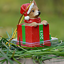 Chihuahua linda decorativo Ornamento del regalo de Navidad para los amantes de mascotas