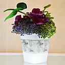 """8.25 arreglo """"hortensias natural con jarrón de metal"""