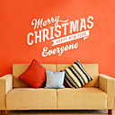 Vacaciones Merry Christmas Everyone pegatinas de pared
