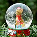 Encantador Chihuahua decorativo Bola de cristal del ornamento regalo de Navidad para los amantes de mascotas