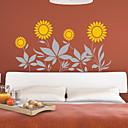 Girasol Floral pegatinas de pared