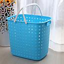 Contemporáneo de plástico cesta de lavadero - 4 colores disponibles