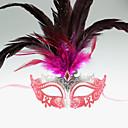 De la Mujer Seductora Chica de plumas máscara de carnaval de la mascarada