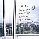 Blackboard pegatinas de pared, Creative Transparente, Nota extraíble, DIY