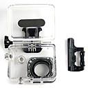 Agua deporte al aire libre caja de la cámara a prueba de agua para GoPro Hero 3/3  -  Negro Transparente
