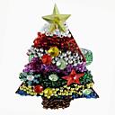 Árbol de Navidad Servilleta Anillo Set Of 12, acrílico Dia 4.5cm