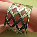 Metal Wedding Napkin Ring Set of 12, Iron Dia 4.5cm