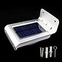 Energía solar al aire libre 16 LED detector de movimiento del sensor de seguridad Al jardín Lámparas de luz (CEI-57238)