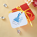 Personalized Favor Tags - Bride and Groom (set of 36)