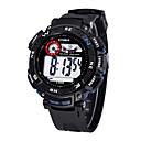 Children/Men's SYNOKE LEO Dial Digital Black PU Band Water Resistant Wrist Watch