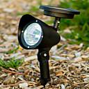 3 LED solar al aire libre impulsado Ruta Paisaje Luz del punto del LED Yard Jardín Lámpara de césped (CIS-57231)