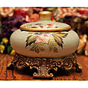 Estilo europeo elegante cenicero de cerámica Retro