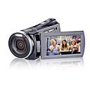 1280  720p 5.0mp videocámara dv hd (detección de movimiento, 12.0 mp mejorada, 5 x objetivo zoom)