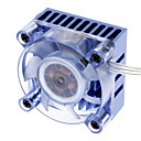 AK-210 Chipset 3-hi-brillante azul LED de bajo ruido de refrigeración para PC