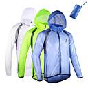 chaqueta de lluvia senderismo impermeable a prueba de viento compacto resistente ultravioleta de los hombres