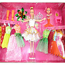 barbie-doll-wardrobe-with-baby-doll-eleven-dresses