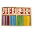 Matemática bambú inteligencia palo juguetes clásicos