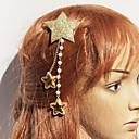 Golden-arena Estrellas Tocado de Navidad con perlas