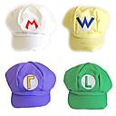 5 Color Super Mario Sombrero unisex del casquillo de Halloween
