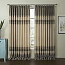 Home & Garden (One Pair) Retro European Clasiic Stripe Eco-friendly Curtain