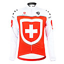Image For Kooplus - Swiss National Team Cycling Long Sleeve Fleece Jersey
