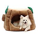 Algodón Hoja del Árbol con estilo caliente del perrito de la perrera Cama para Mascotas Perros