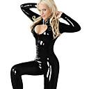Catwoman Selina de Batman Negro Cuero de la PU de la Mujer Uniforme Fiesta de Carnaval