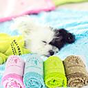 Algodón Fleece perrito gatito manta cojín de la estera del gato del perro de animal doméstico (colores surtidos)