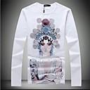 Mens 2014 Spring New Brand Long Sleeve Cotton T-shirt