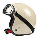 abs medio casco de la motocicleta de materiales (con la lente estilo harley)