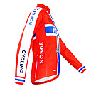 Image For Kooplus - Norwegian National Team Cycling Long Sleeve Fleece Jersey