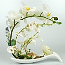 "10.5""H Artistic Style Orchids in Ceramic Vase Arrangement"