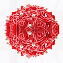 Boda de la forma redonda Rose ramo de novia con perlas de imitación (más colores)