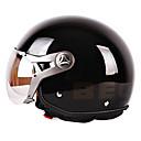 Image For b100-4 mode matériel vintage abs style harley courses de moto casque demi (couleurs en option)