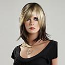 100% japonés Kanekalon peluca sintética recta corta (el color mezclado)
