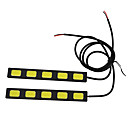 30W High Power 5LED DRL,Ultra-thin and ultralight cold wihte back light