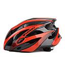 LUNA Ciclismo Rojo  Negro PC  EPS 25 Vents MTB Casco Protector